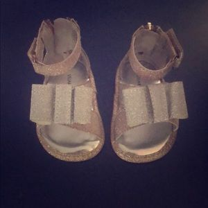 Baby Girls Size 1 Stuart Weitzman sandals.